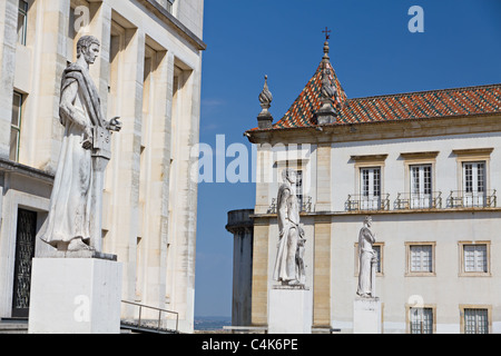 Faculty of Philosophy at University of Coimbra, Portugal / Faculdade de Letras, Universidade de Coimbra, Portugal - Stock Photo