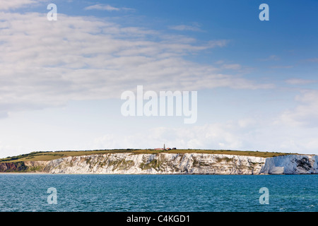 Whitecliff and Culver Down, Isle of Wight, England, UK - Stock Photo