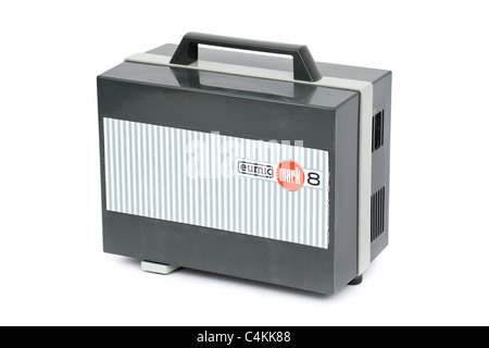 Vintage Eumig Mark 8 home movie projector - Stock Photo