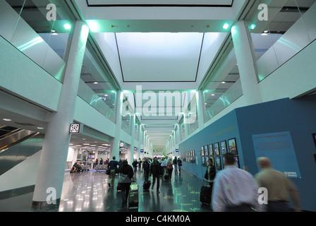 Miami Airport Terminal. - Stock Photo
