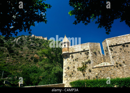 Villefranche-De-Conflent France Languedoc-Roussillon 11th Century Town Fortifications Built By Vauban UNESCO World - Stock Photo