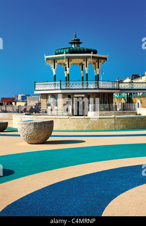 Brighton bandstand,seafront,Brighton,East Sussex,UK. - Stock Photo