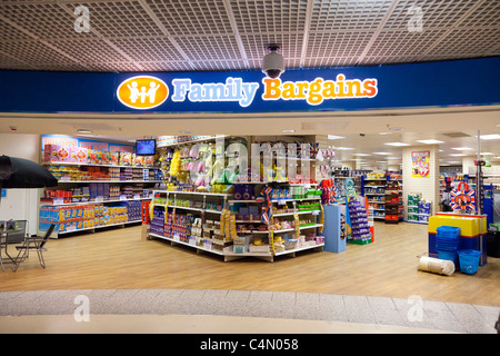 Family Bargains store - Stock Photo