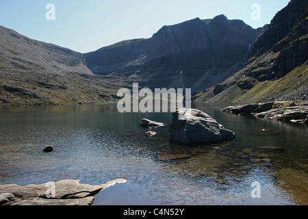 Beinn Eighe National Nature Reserve, Torridon Mountains, Scotland - Stock Photo