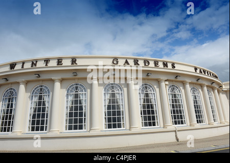 The Winter Gardens Pavilion Weston-super-Mare Somerset England Uk - Stock Photo