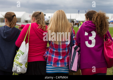Events and Competitors at the Cheshire Game & Country Fair Show, Knutsford, UK - Stock Photo