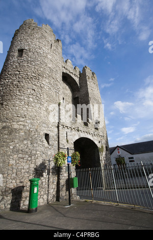 St Laurence's Gate, Drogheda, Co. Louth, Republic of Ireland - Stock Photo