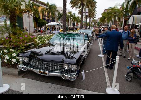 A 1960 Pininfarina designed Cadillac Eldorado Pininfarina Brougham circa 1960 - Stock Photo