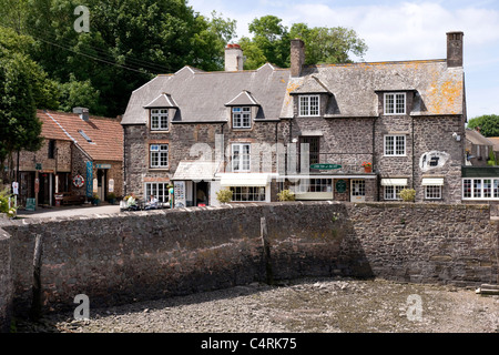 Porlock Weir Somerset England UK - Stock Photo