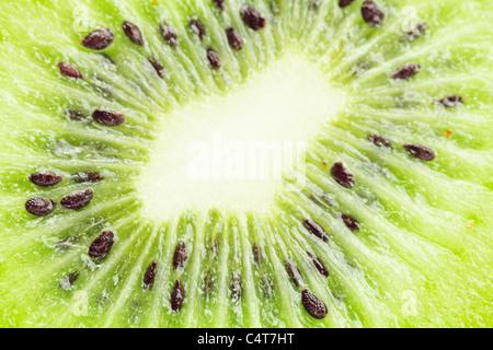 juicy kiwi isolated on white - Stock Photo