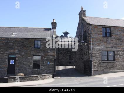Highland Park Distillery Kirkwall Orkney Scotland May 2011 - Stock Photo