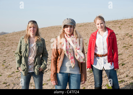 Portrait of Teenagers - Stock Photo