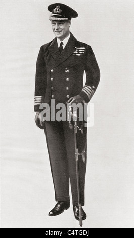 The Prince of Wales, later King Edward VIII, in 1920. - Stock Photo
