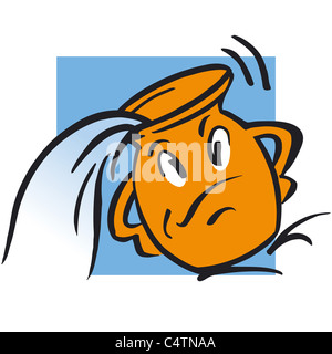 Aquarius astrological sign, illustration - Stock Photo