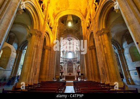 Europe, Portugal, Lisbon, Se Patriarcal Cathedral - Stock Photo
