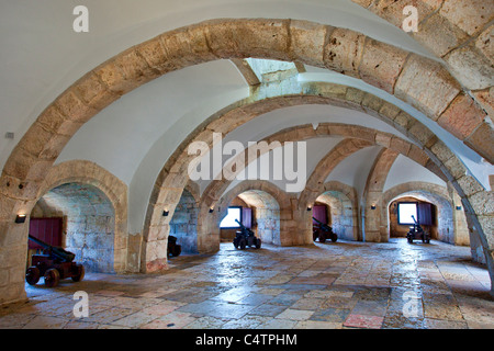 Europe, Portugal, Belem Tower in Lisbon - Stock Photo