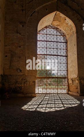 Uzbekistan - Samarkand - detail of the Bibi-Khanym Mosque - Stock Photo