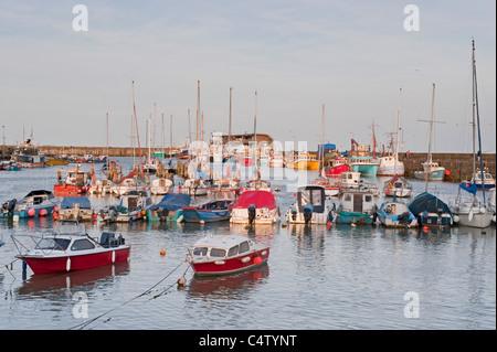 Bridlington Harbour - Stock Photo