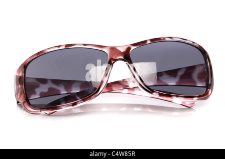 womens sunglasses isolated on white background