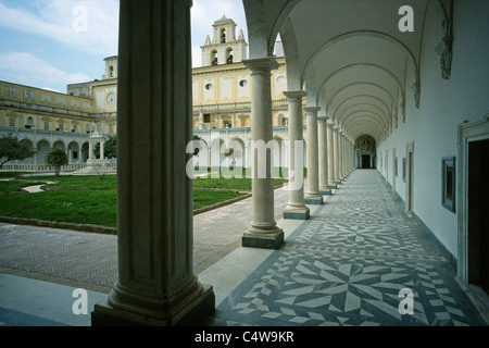 Certosa di San Martino Naples Italy - Stock Photo