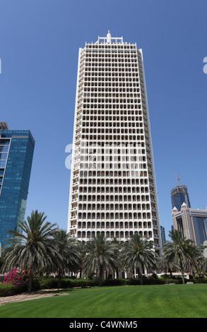 World Trade Centre in Dubai, United Arab Emirates - Stock Photo