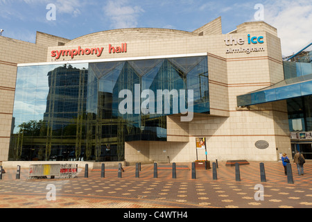 The ICC and Symphony Hall in Birmingham UK - Stock Photo