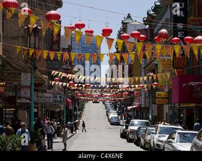 San Francisco China Town - 1 - Stock Photo