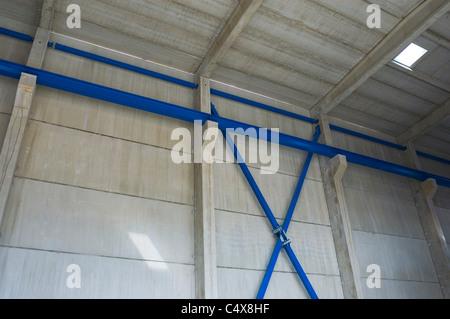 Concrete building under construction - Stock Photo
