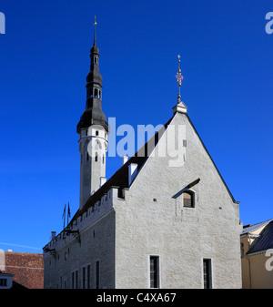 Historic Centre (Old Town), Tallinn, Estonia - Stock Photo