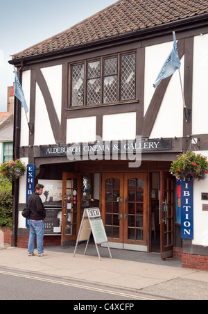 Aldeburgh cinema and gallery, High St, Aldeburgh Suffolk UK - Stock Photo