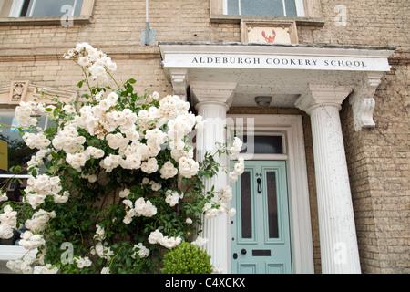 Aldeburgh Cookery School, High St Aldeburgh Suffolk UK - Stock Photo