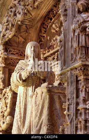 Cartuja de Miraflores, near Burgos, Castile and Leon, Spain - Stock Photo