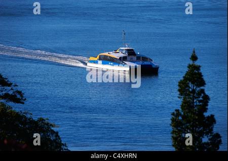 Brisbane Citycat ferry Queensland Australia - Stock Photo