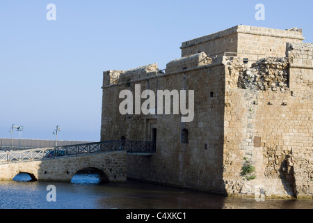 Paphos Castle (Fort) Pafos Cyprus - Stock Photo