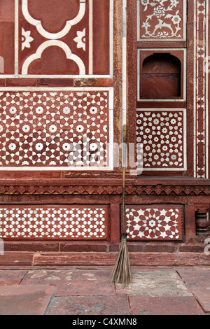 Gate of the Tomb of Itmad-ud-Daula - Stock Photo
