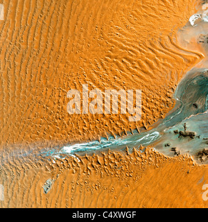 as from space in this NASA satellite image. - Stock Photo