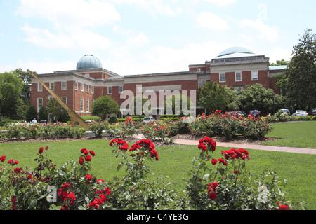 Morehead Planetarium, University of North Carolina, Chapel Hill, North Carolina, USA Stock Photo