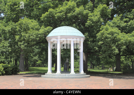 The Old Well, symbol of UNC, University of North Carolina, Chapel Hill, USA - Stock Photo