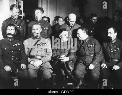 Kliment Woroschilow, - Stock Photo