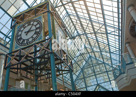 he interior of Portage Place is pictured in Winnipeg - Stock Photo