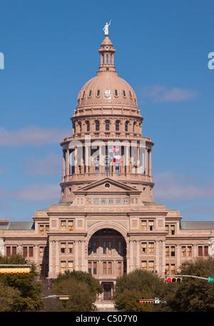 AUSTIN, TEXAS, USA - Texas State Capitol building. - Stock Photo
