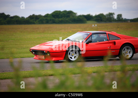 Goodwood Curcuit, the historic motor racing venue near Chichester in West Sussex. - Stock Photo