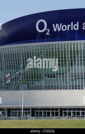 Berlin. Germany. O2 World arena, Friedrichshain. - Stock Photo