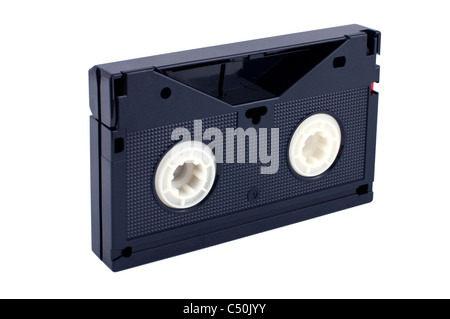 videocassette isolated on white background - Stock Photo