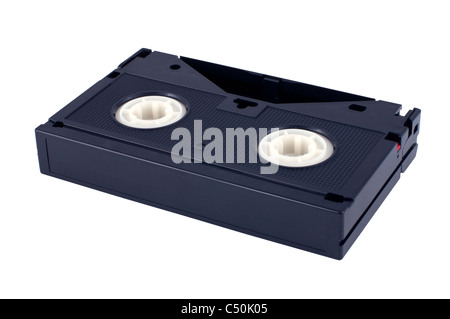 videotape isolated on white background - Stock Photo