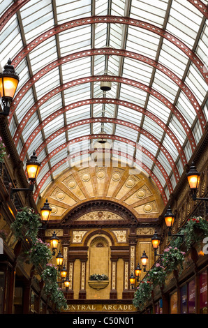 Central Arcade, Newcastle-upon-Tyne - Stock Photo