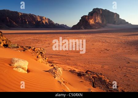Wadi Rum in Jordan - Stock Photo