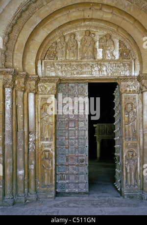 The Abbey of San Clemente a Casauria. - Stock Photo