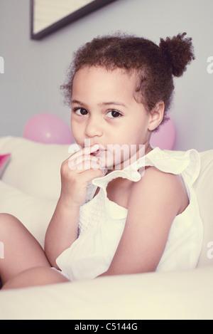 Little girl, portrait - Stock Photo