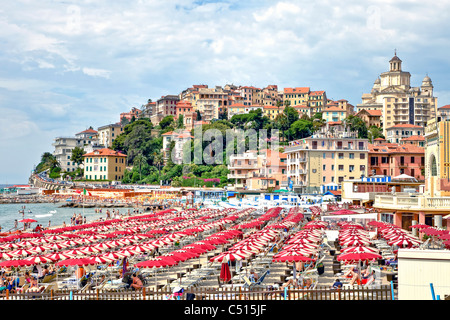 Overlooking the old town of Porto Maurizio - Imperia
